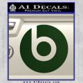 Beats By Dre Decal Sticker Dark Green Vinyl 120x120