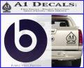 Beats By Dre Decal Sticker PurpleEmblem Logo 120x97