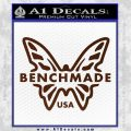 Benchmade Knives Butterfly D1 Decal Sticker BROWN Vinyl 120x120