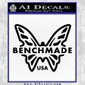 Benchmade Knives Butterfly D1 Decal Sticker Black Vinyl 120x120