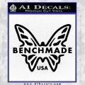 Benchmade Knives Butterfly D1 Decal Sticker Black Vinyl 120x120