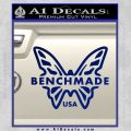 Benchmade Knives Butterfly D1 Decal Sticker Blue Vinyl 120x120