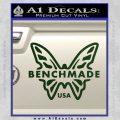 Benchmade Knives Butterfly D1 Decal Sticker Dark Green Vinyl 120x120