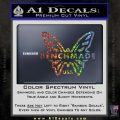 Benchmade Knives Butterfly D1 Decal Sticker Glitter Sparkle 120x120