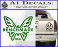 Benchmade Knives Butterfly D1 Decal Sticker Green Vinyl Logo 120x97