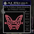 Benchmade Knives Butterfly D1 Decal Sticker Pink Emblem 120x120