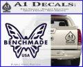 Benchmade Knives Butterfly D1 Decal Sticker PurpleEmblem Logo 120x97