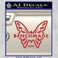 Benchmade Knives Butterfly D1 Decal Sticker Red 120x120