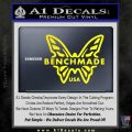 Benchmade Knives Butterfly D1 Decal Sticker Yellow Laptop 120x120