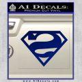 Bizarro Decal Sticker Blue Vinyl 120x120