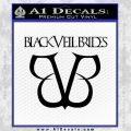Black Veil Brides Full Band Decal Sticker Black Vinyl 120x120