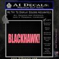 Blackhawk Firearms Decal Sticker Pink Emblem 120x120