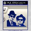 Blues Brothers Decal Sticker Blue Vinyl 120x120