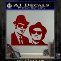 Blues Brothers Decal Sticker DRD Vinyl 120x120