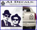 Blues Brothers Decal Sticker PurpleEmblem Logo 120x97