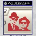 Blues Brothers Decal Sticker Red 120x120
