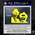 Blues Brothers Decal Sticker Yellow Laptop 120x120