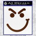 Bon Jovi Decal Sticker Have A Nice Day Smirk BROWN Vinyl 120x120