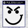 Bon Jovi Decal Sticker Have A Nice Day Smirk Black Vinyl 120x120
