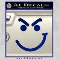 Bon Jovi Decal Sticker Have A Nice Day Smirk Blue Vinyl 120x120