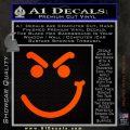 Bon Jovi Decal Sticker Have A Nice Day Smirk Orange Emblem 120x120