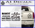 BorderlandsAll Gun Companies Decal Sticker Carbon FIber Black Vinyl 120x97