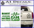 BorderlandsAll Gun Companies Decal Sticker Green Vinyl Logo 120x97