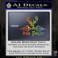 Bow Hunter Decal Sticker Intricate Glitter Sparkle 120x120