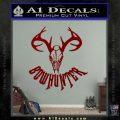 Bow Hunter Decal Sticker Skull DRD Vinyl 120x120