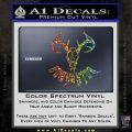 Bow Hunter Decal Sticker Skull Glitter Sparkle1 120x120