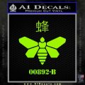 Breaking Bad Methylamine Ch3nh2 D1 Decal Sticker Lime Green Vinyl 120x120