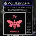 Breaking Bad Methylamine Ch3nh2 D1 Decal Sticker Pink Emblem 120x120