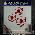 Bullet Holes Decal Sticker DRD Vinyl 120x120