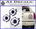 Bullet Holes Decal Sticker PurpleEmblem Logo 120x97