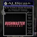 Bushmaster Firearms Decal Sticker Pink Emblem 120x120