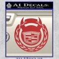 Cadillac Diablo Sport D2 Decal Sticker Red 120x120