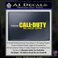 Call Of Duty Black Ops 2 Official Logo Decal Sticker Yellow Laptop 120x120