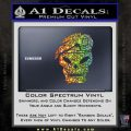 Call Of Duty Black Ops 2 Skull Beret Decal Sticker Glitter Sparkle 120x120