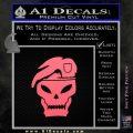 Call Of Duty Black Ops 2 Skull Beret Decal Sticker Pink Emblem 120x120