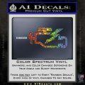 Check Engine Funny Decal Sticker Glitter Sparkle 120x120