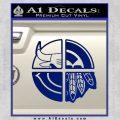 Chicago Pro Sports Decal Sticker Bulls Cubs Bears Blue Vinyl 120x120