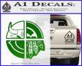 Chicago Pro Sports Decal Sticker Bulls Cubs Bears Green Vinyl Logo 120x97