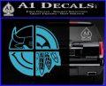 Chicago Pro Sports Decal Sticker Bulls Cubs Bears Light Blue Vinyl 120x97