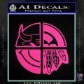 Chicago Pro Sports Decal Sticker Bulls Cubs Bears Pink Hot Vinyl 120x120