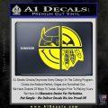 Chicago Pro Sports Decal Sticker Bulls Cubs Bears Yellow Laptop 120x120