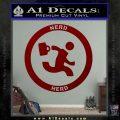 Chuck Tv Nerd Herd CR Decal Sticker DRD Vinyl 120x120