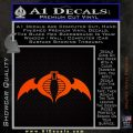 Cobra Air Force Decal Sticker GI Joe Orange Emblem 120x120