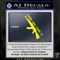 Come And Take It Ak 47 Gun Control D1 Decal Sticker Yellow Laptop 120x120