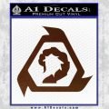 Command And Conquer NOD Decal Sticker BROWN Vinyl 120x120