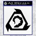 Command And Conquer NOD Decal Sticker Black Vinyl 120x120